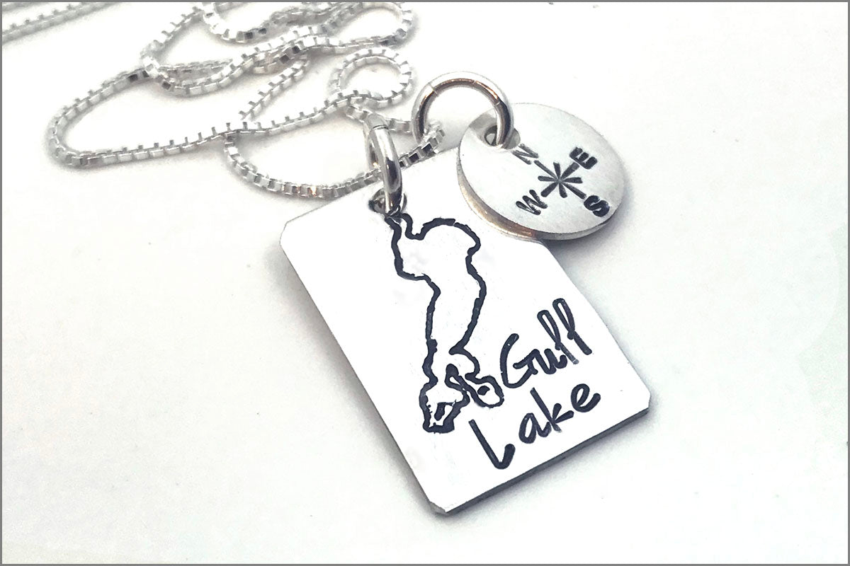 Wear Your Lake | Custom Lake Necklace