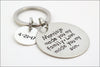 Personalized Son In Law Wedding Keychain | Custom Wedding Date, Gift for Son In Law, Customized Wedding Gift