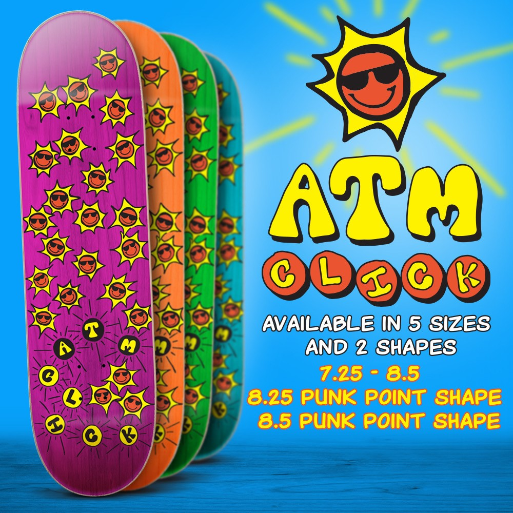 "New ""Suns"" Decks out now from ATM Click"