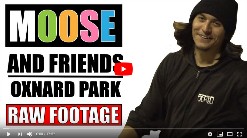 iDabble VM: Moose & friends skate Ox Park (RAW FOOTAGE)