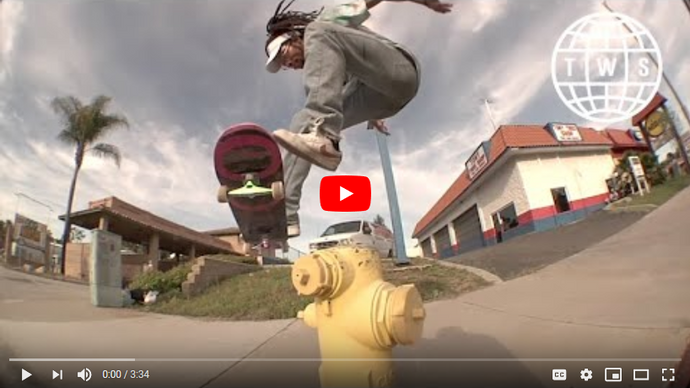 Spencer Semien Moving With Andalé Bearings Part on Transworld