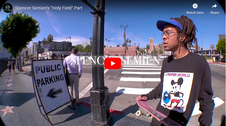 "Spencer Semien's ""Holy Field"" Part up on TWS"