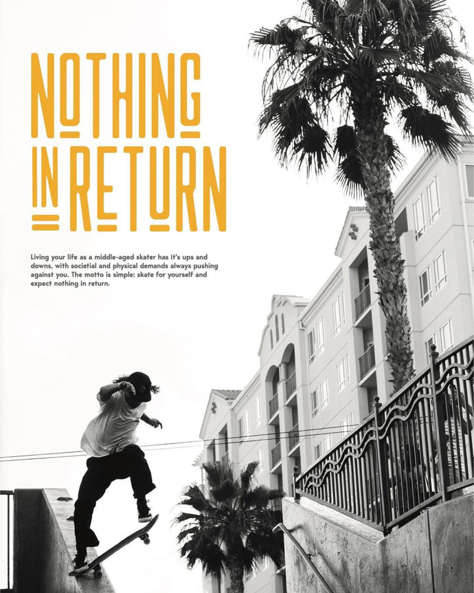 """Nothing In Return"" video live on The Berrics"