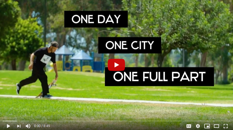 Dan Corrigan - One Day, One City, One Full Part