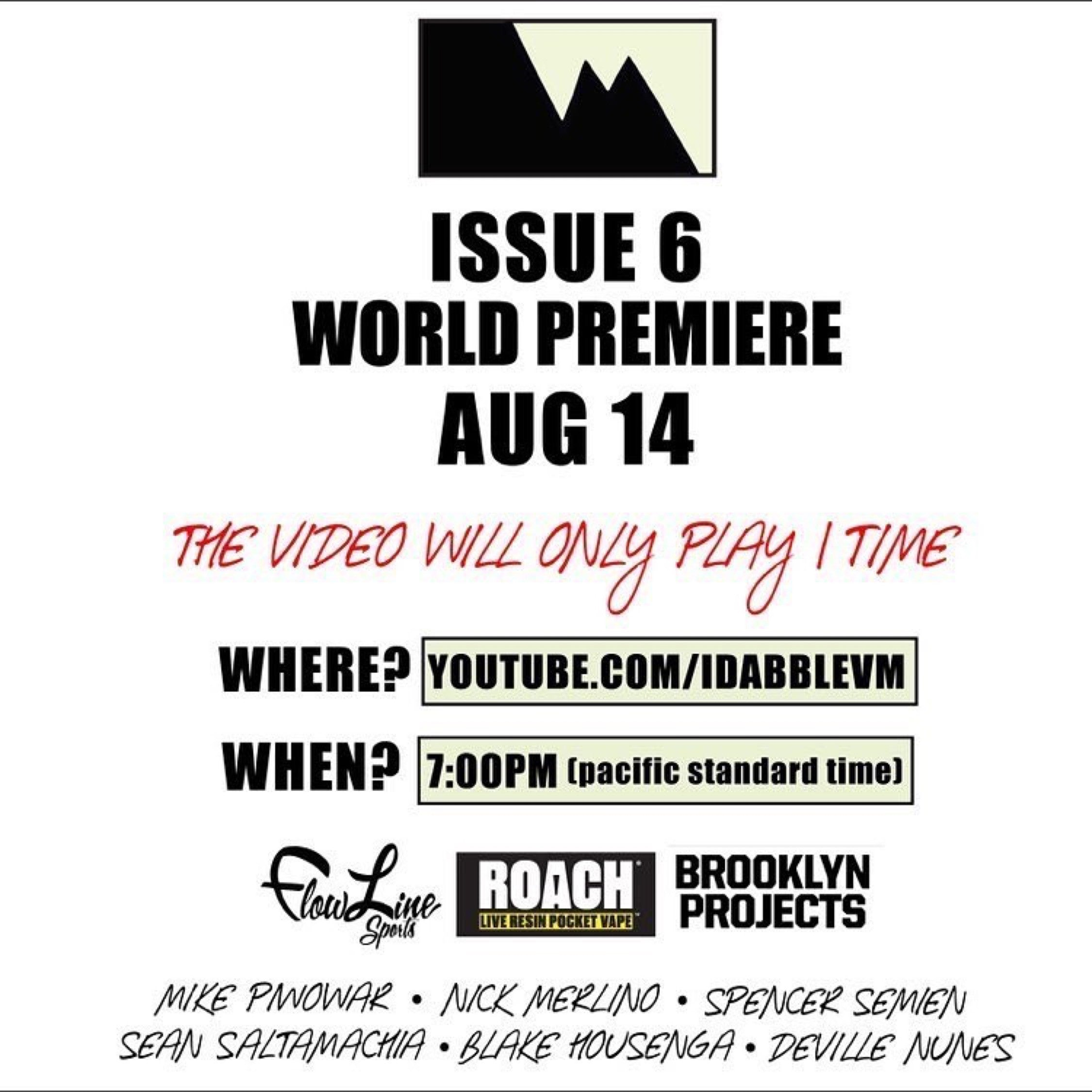 iDabble VM Issue 6 Premire Aug 14th on YouTube