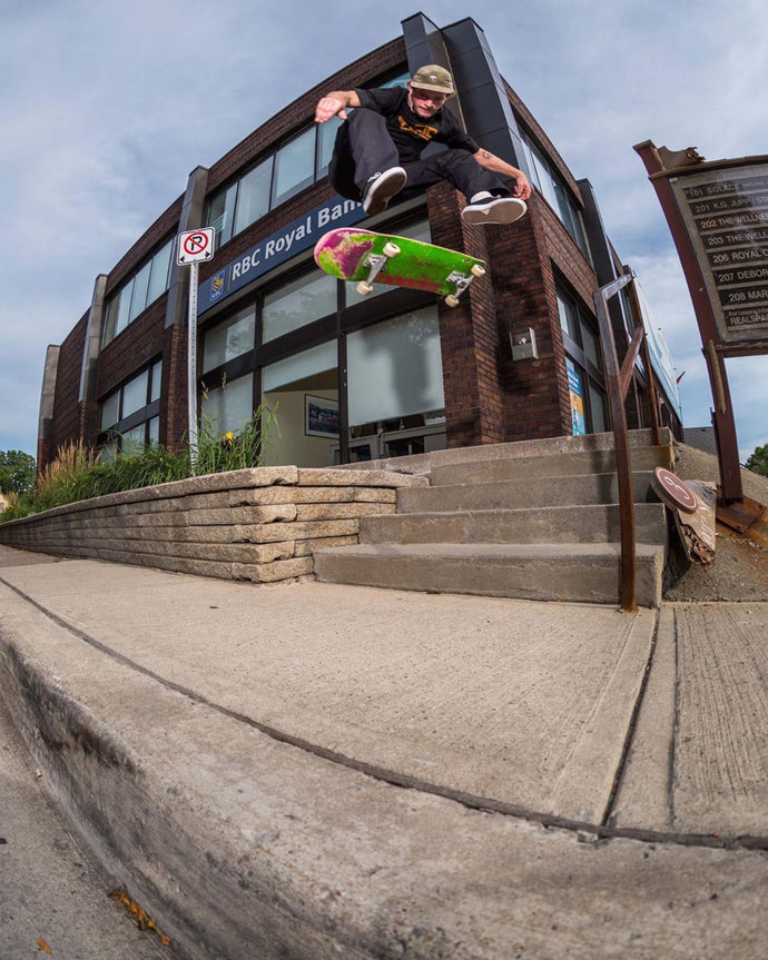 Justin Fabus in latest Neighbourhood Skate Mag