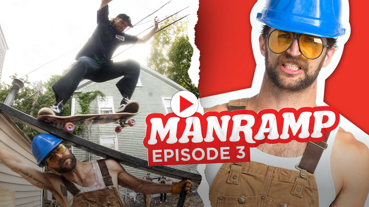 "Abe Dubin in Manramp: ""Fancy Lad"" Episode 3 on Thrasher Mag"