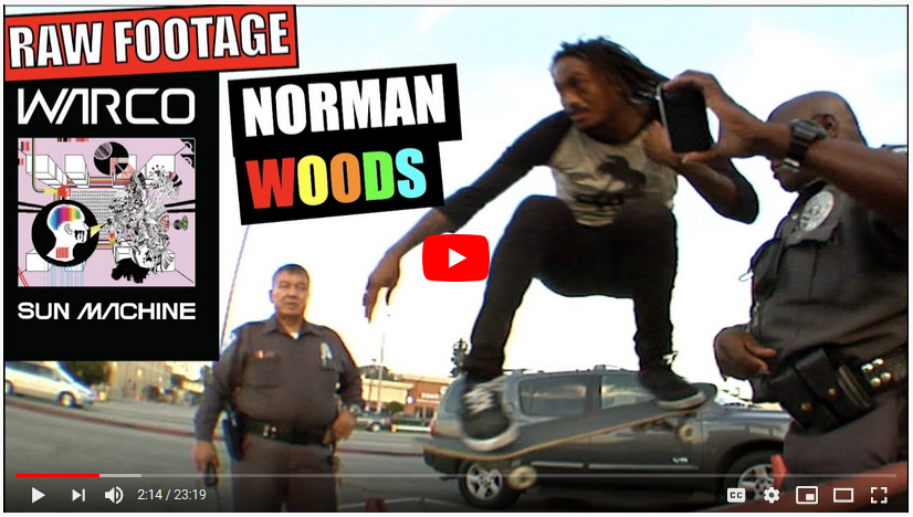 iDabbleVM: Norman Woods: Sun Machine (RAW FOOTY)