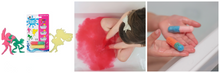 Load image into Gallery viewer, Fairy Folk Bath Beans and Single Bath Bomb Sprudel