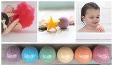 Load image into Gallery viewer, Fairytales Bath Beans and Single Bath Bomb Sprudel