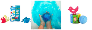 Sea Creatures Bath Beans and Single Bath Bomb