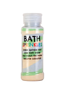 Rainbow Bath Sprinkles - Green