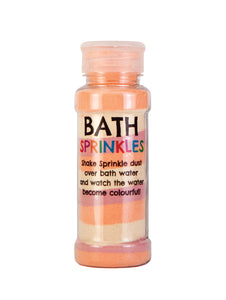 Rainbow Bath Sprinkles - Orange
