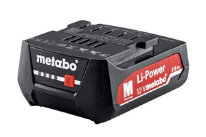 Metabo batteri 12 V, 2,0 AH, LI-POWER