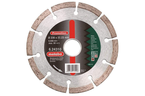 Metabo diamantskive 230 x 22.23 mm - Verktoybua I Sandnes