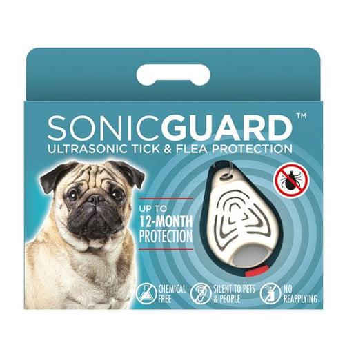 SonicGuard Pet Chemical Free Tick and Flea Repeller - For Dogs