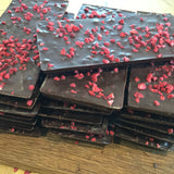 Three Raspberry & Vanilla Sharing bar