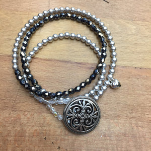 Angel Bracelet - dark gray