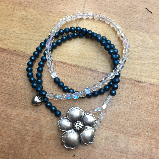 Angel Bracelet - midnight blue