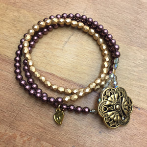 Angel Bracelet - purple