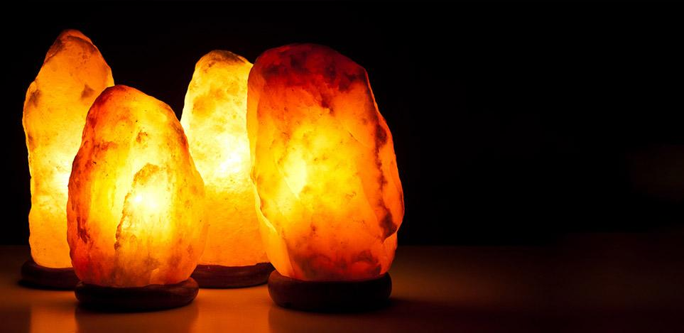 Himalayan <br>salt lamps