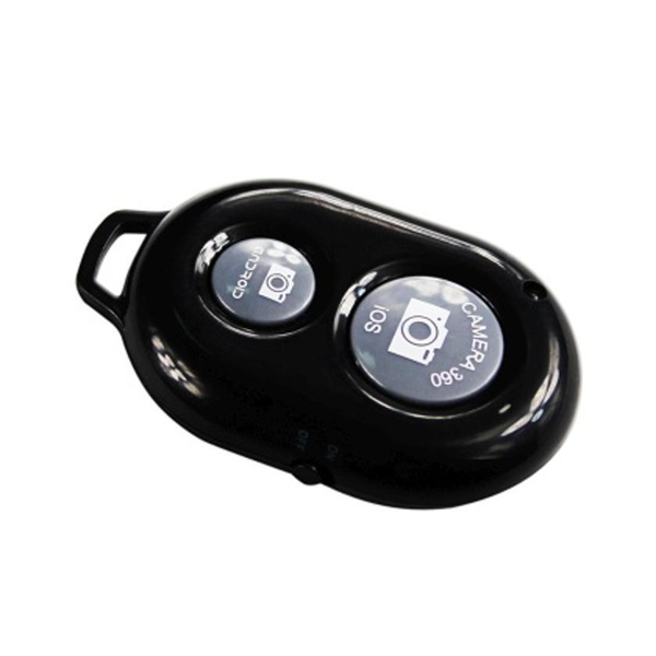 REIKO UNIVERSAL BLUETOOTH WIRELESS SHUTTER FOR SELFIES IN BLACK
