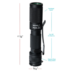 Mons Peak IX Wingman Flashlight