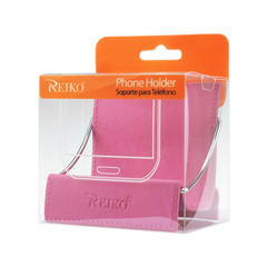 REIKO UNIVERSAL PHONE STAND HOLDER IN HOT PINK