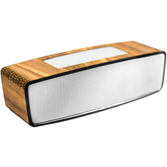 Handcrafted Portable Wooden Bluetooth Speaker