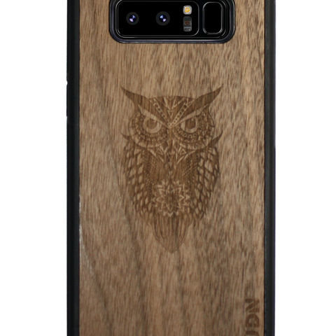 Ultra-Slim Wooden iPhone Case | Night Owl
