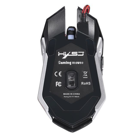 7 Buttons 2400 DPI Optical Gaming Mouse