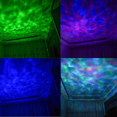 Premium Ocean Wave LED Projector Lights Speaker with Remote control