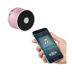 UNIVERSAL MINI BLUETOOTH SPEAKER ROSE GOLD