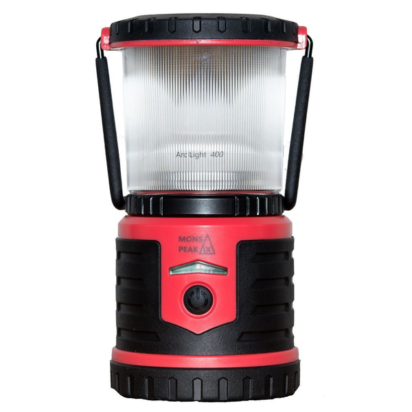 Mons Peak IX Arc Light 400 Rechargeable LED Lantern with Power Bank