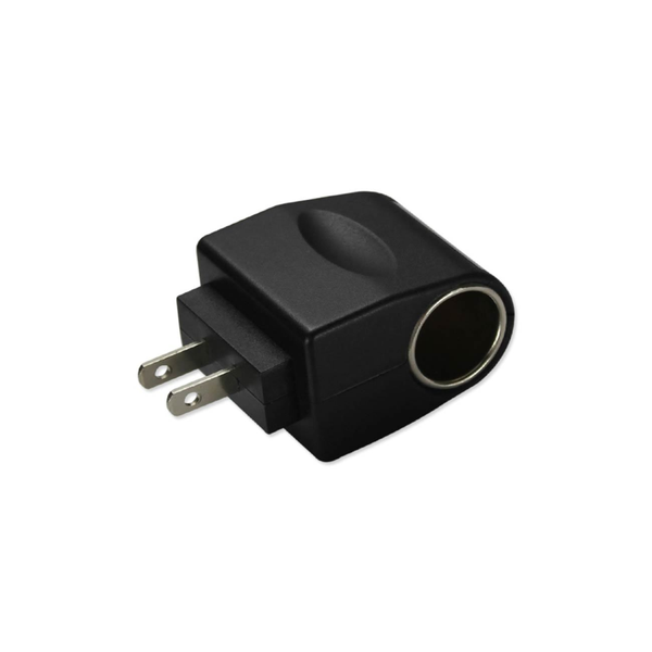 REIKO 650MAH AC TO DC WALL ADAPTER TO CAR CHARGER IN BLACK