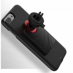 Magnetic wireless charging case and mount