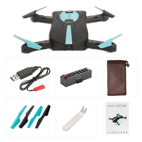 Headless 2.0MP Camera WiFi FPV RC Quadcopter Drone