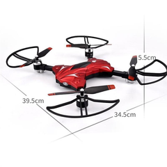 Foldable RC Altitude Hold Quadcopter Drone with LED Lights