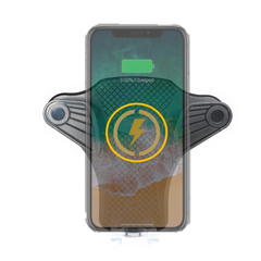 Slide N' Drive | Wireless Charging Vent Mount w/ Retractable USB Cable