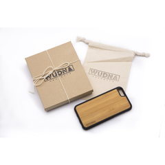Slim Wooden Phone Case | New York Skyline Traveler