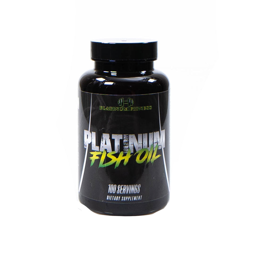 Platinum Fitness Fish Oil (Front)