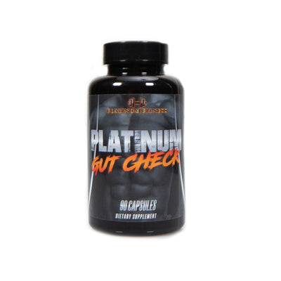 Platinum Fitness Gut Check (Front)