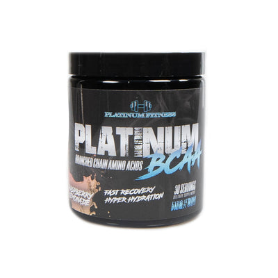 Platinum Fitness Raspberry Lemonade BCAA (Front)