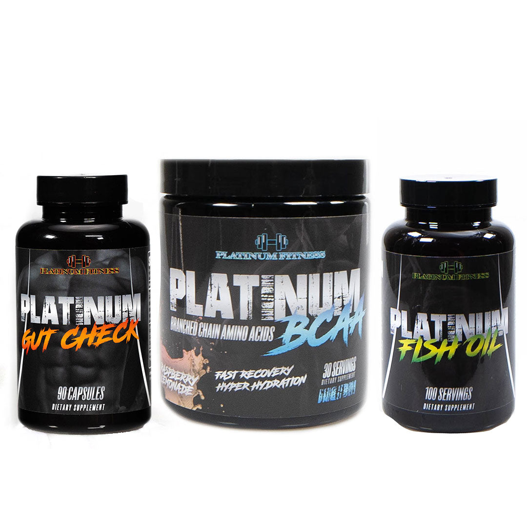 Platinum Fitness Gut Health Bundle - Raspberry Lemonade