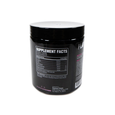 Platinum Fitness The Kool Aid BCAAs (Back)