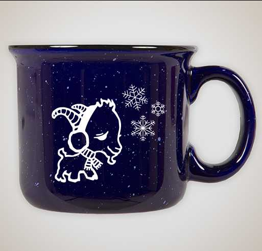 Winter Goat Mug