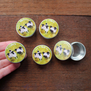 Mini sheep tins by Laura Lee Designs