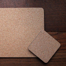 Load image into Gallery viewer, Hight quality cork backed coasters