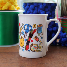 Load image into Gallery viewer, Embroidery Mug by Laura Lee Designs