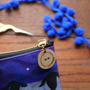 Galaxy and stars sheep purse by Laura Lee Designs Cornwall
